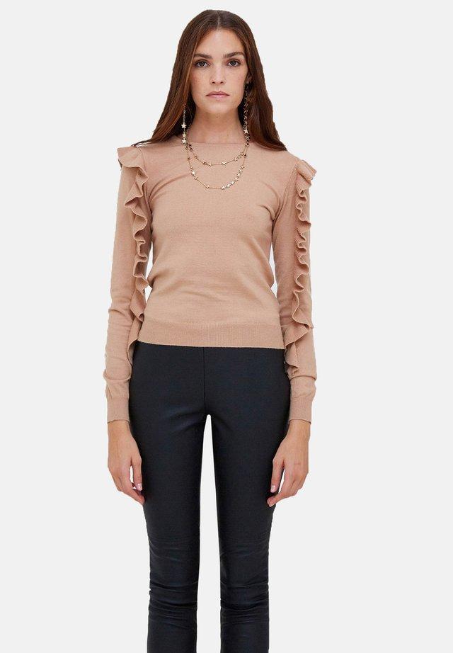 Sweatshirt - marrone