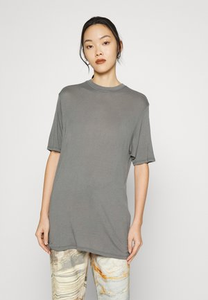 JXDIANA RELAXED GRUNGE TEE - T-shirts - smoked pearl
