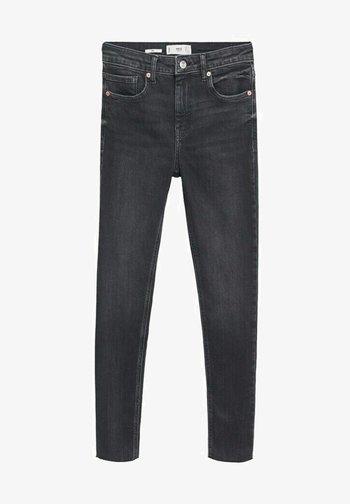 Skinny džíny - open grey