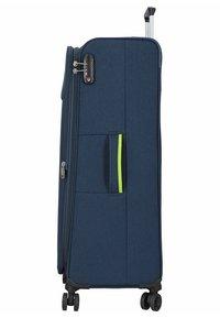 Hardware - REVOLUTION - Wheeled suitcase - dark blue - 2