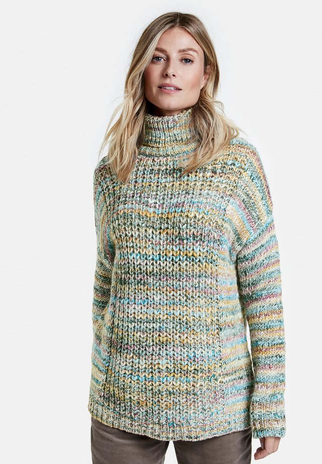 Pullover - ecru/weiss/lila/pink multicolo