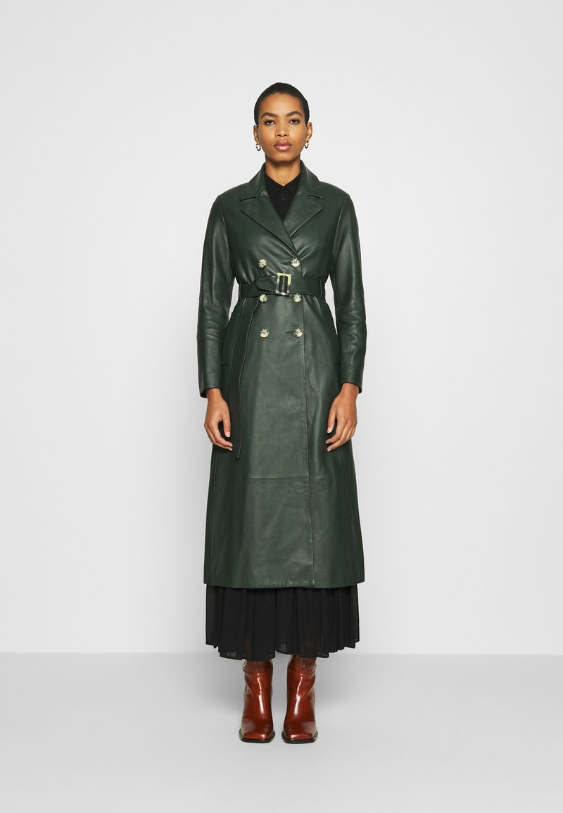 IVY & OAK - Trenchcoat - iris leaf