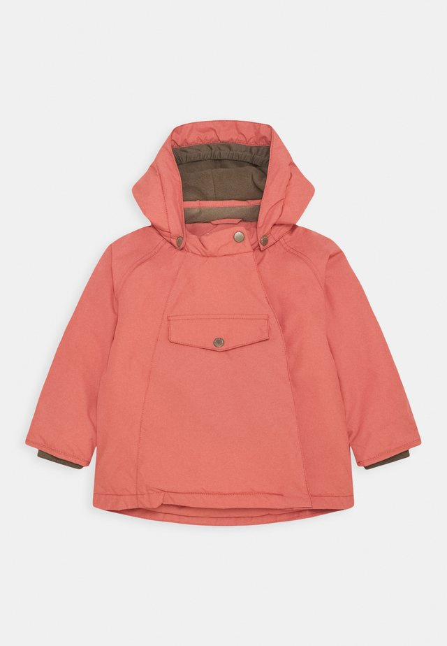 WANG JACKET UNISEX - Vinterjakke - dusty cedar rose