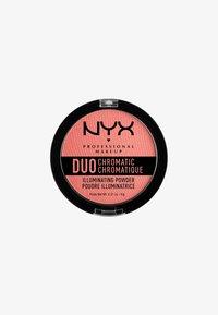 Nyx Professional Makeup - DUO CHROMATIC ILLUMINATING POWDER - Highlighter - 3 crushed bloom - 0