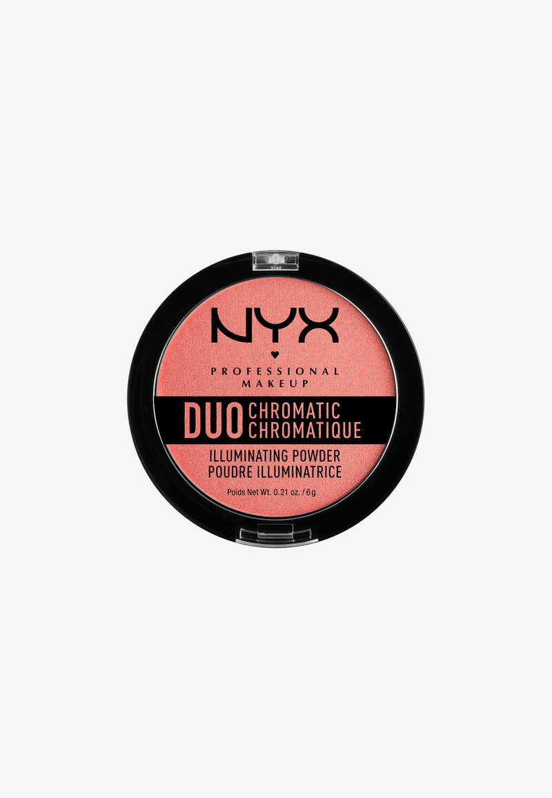 Nyx Professional Makeup - DUO CHROMATIC ILLUMINATING POWDER - Highlighter - 3 crushed bloom