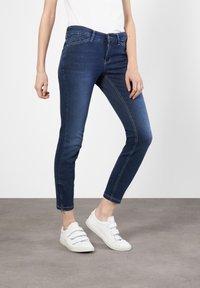 MAC Jeans - Slim fit jeans - dark used - 0