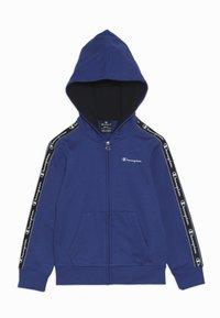 Champion - AMERICAN CLASSICS PIPING HOODED FULL ZIP - Mikina na zip - royal blue - 0