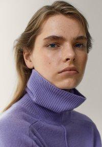 Massimo Dutti - Pullover - dark purple - 3