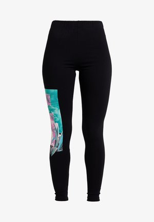 PORTRAIT - Leggings - Trousers - black
