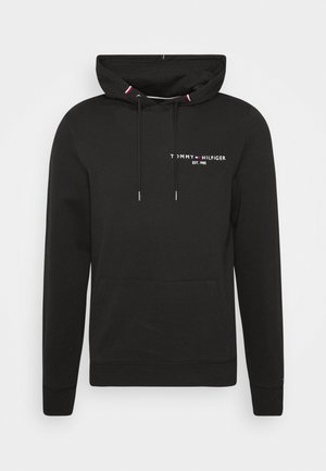 SMALL LOGO HOODY - Bluza z kapturem - black