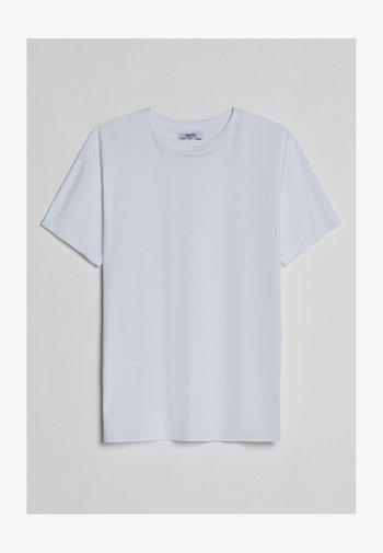 Print T-shirt - nude
