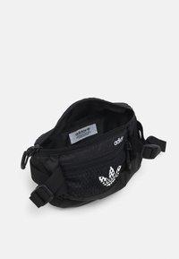 adidas Originals - WAISTBAG UNISEX - Bum bag - black/white - 2