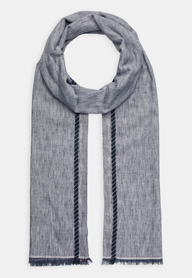 CORPORATE STRIPE SCARF - Scarf - blue