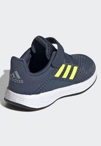 adidas Performance - DURAMO SL SHOES - Sports shoes - crew navy/solar yellow/halo silver - 3