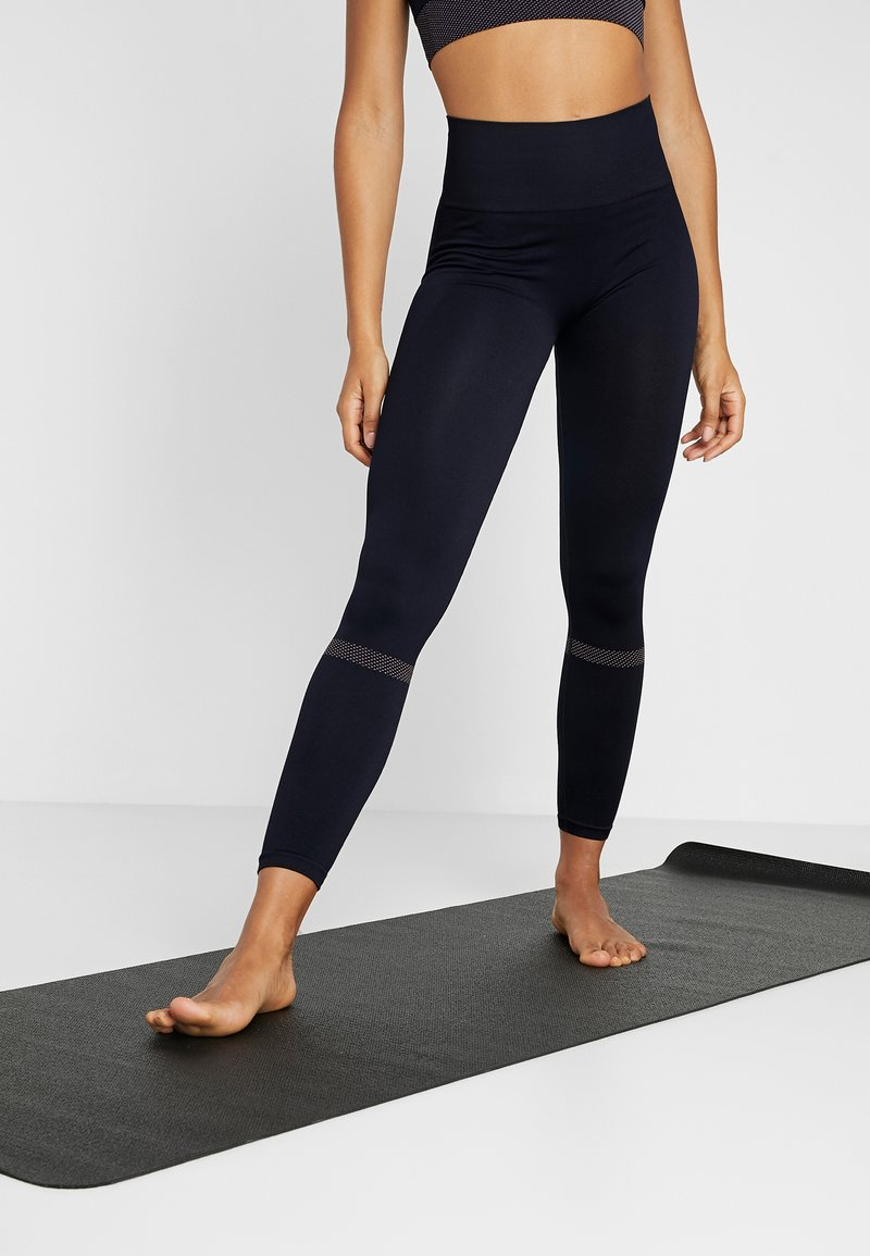Filippa K - JAQUARD STRIPE LEGGINGS - Legging - night sky