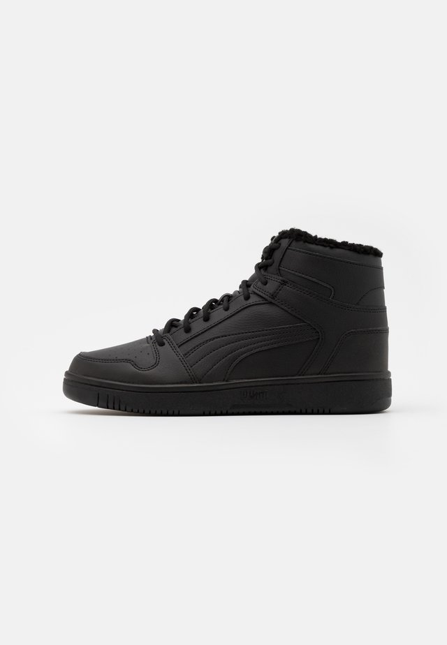 REBOUND LAYUP UNISEX - High-top trainers - black