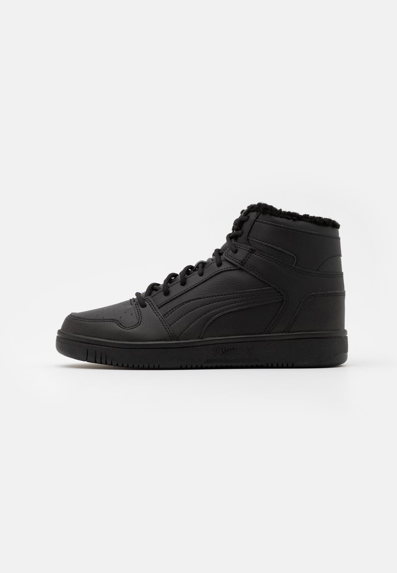 Puma - REBOUND LAYUP UNISEX - High-top trainers - black