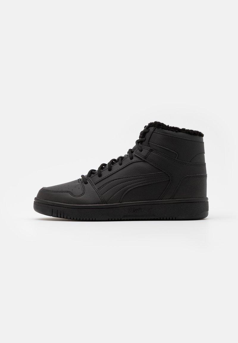 Puma - REBOUND LAYUP UNISEX - Sneakersy wysokie - black