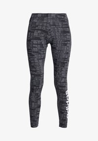 adidas Performance - ESSENTIALS SEASONAL SPORT LEGGINGS - Punčochy - black - 3