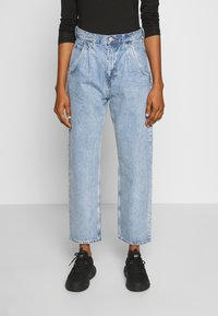 Weekday - FRAME PEN - Relaxed fit jeans - pen blue - 0
