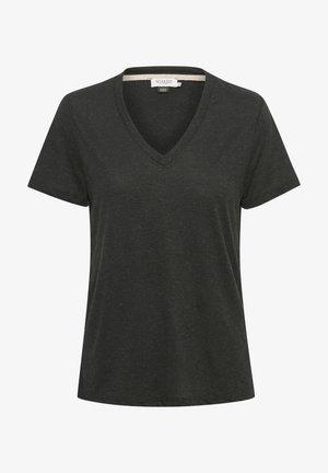 Basic T-shirt - black/grey