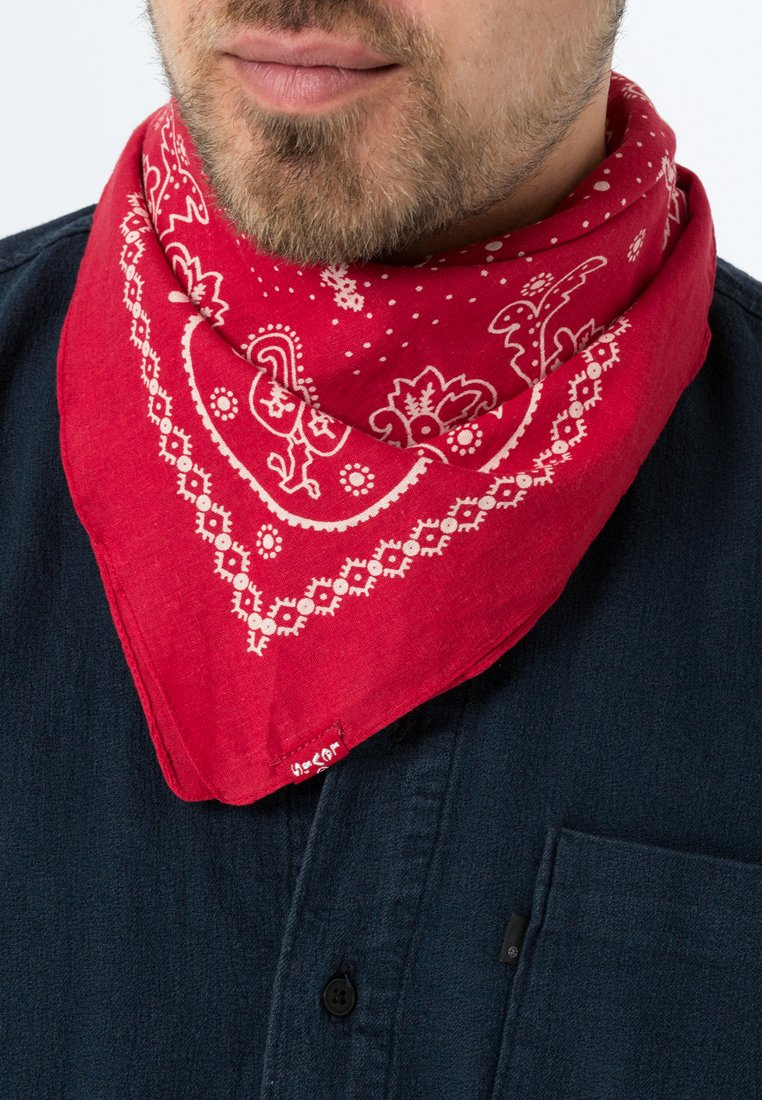 Levi's® - PAISLEY BANDANA - Skjerf - regular red