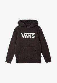 Vans - Hoodie - black-white - 0