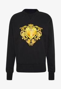 Versace Jeans Couture - LOGO GIOIELLI  - Mikina - black - 3