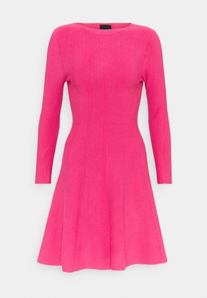 LIBERIA DRESS - Robe pull - fuchsia