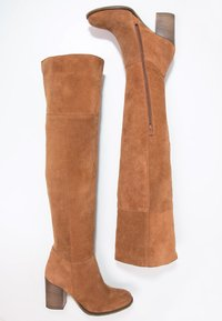 Zign - Over-the-knee boots - hazel - 2