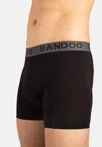 Bandoo Underwear - 2PACK - Pants - black,black - 2