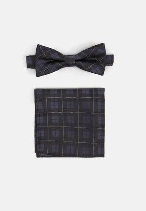 ONSTHOMAS PATTERN BOWTIE SET - Lommetørklæde - black
