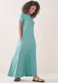 Next - COLUMN  - Maxi dress - teal - 1