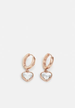 FROM GUESS WITH LOVE - Náušnice - rose gold-coloured