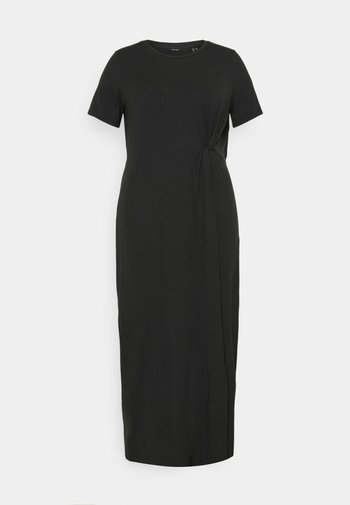 VMAVA LULU ANCLE DRESS - Maxikjole - black