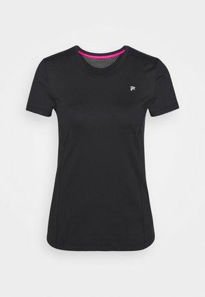 SOPHIE - Basic T-shirt - black