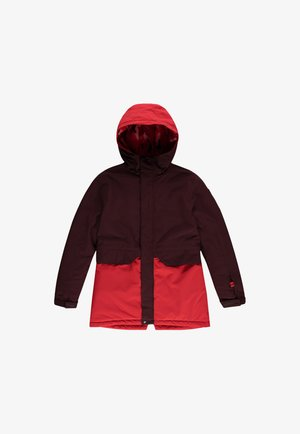 ZEOLITE  - Snowboard jacket - bitter chocolate