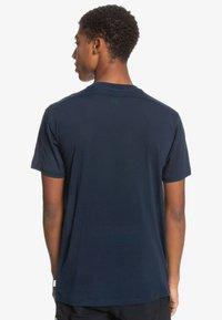 Quiksilver - Print T-shirt - navy blazer - 2