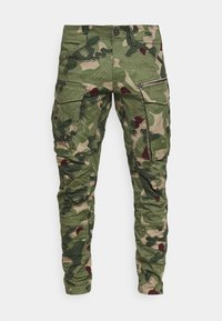 ROVIC ZIP 3D STRAIGHT TAPERED - Cargo trousers - olive