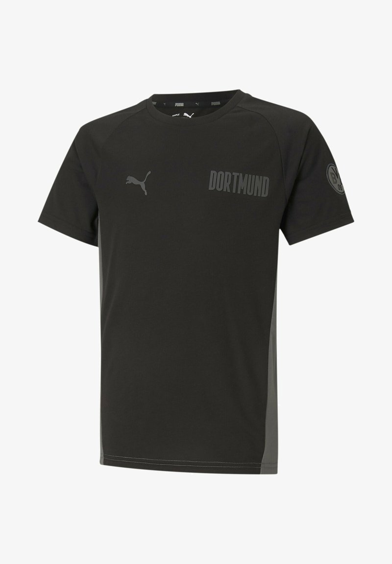 Puma - Print T-shirt - black-castlerock