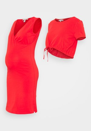 DRESS NURSING  2-IN-1 - Žerzejové šaty - red