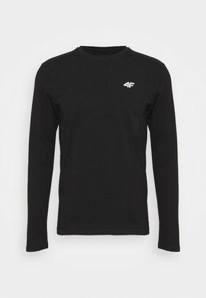 Men's long sleeve - Pitkähihainen paita - black