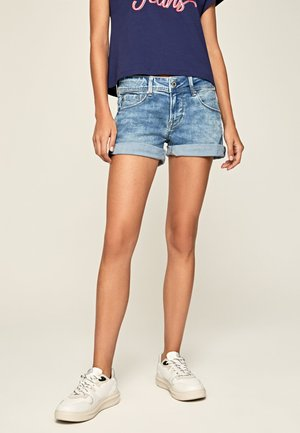 SIOUXIE - Jeans Shorts - denim