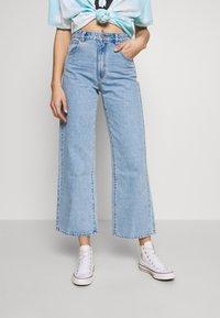 Abrand Jeans - Flared Jeans - light blue denim - 0
