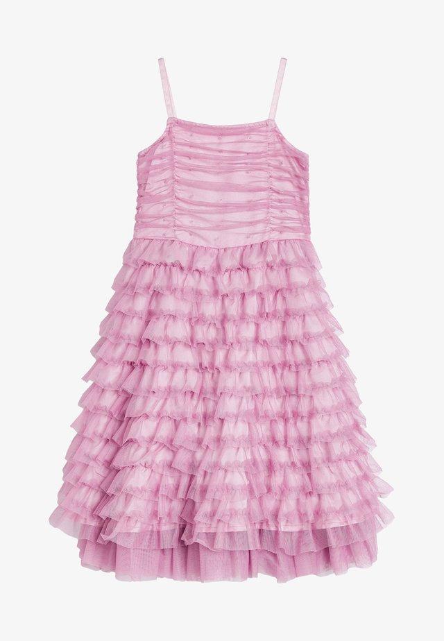 Koktejlové šaty/ šaty na párty - lilac