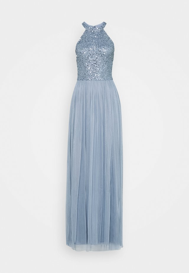 AVALON MAXI TALL - Vestido de fiesta - dusty blue