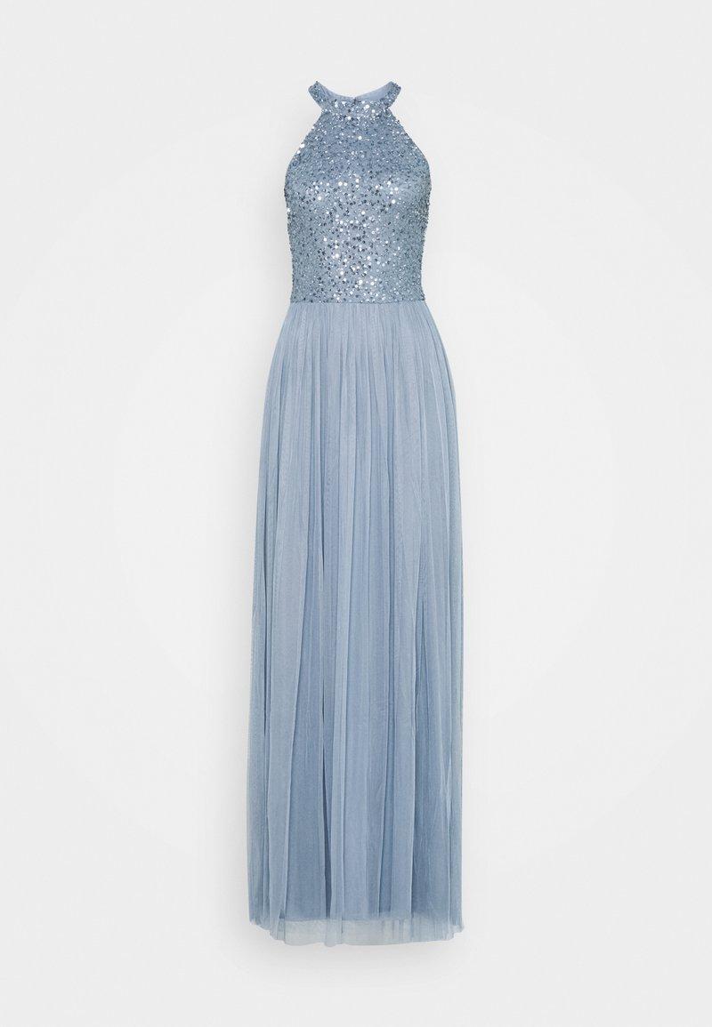 Lace & Beads Tall - AVALON MAXI TALL - Společenské šaty - dusty blue