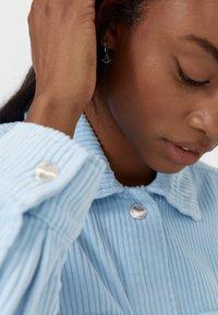 Stradivarius - Summer jacket - light blue - 3