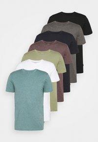 Burton Menswear London - 7 PACK - Camiseta básica - multi - 0