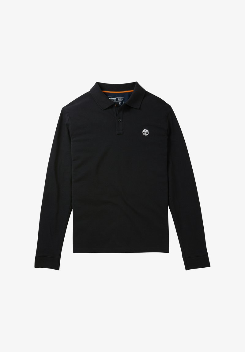 Timberland - LS MILLERS RIVER  - Polo shirt - black